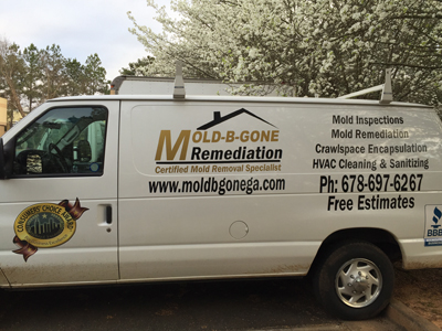 Mold-B-Gone offers professional mold remediation services all over Georgia and states around it.