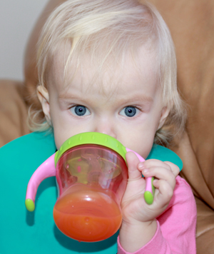 Does Your Kids Sippy Cup Have Mold?: This article article explains why mold grows on sippy cups, why it could make your child sick, and how you should properly clean the sippy cup!