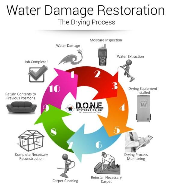 Mold B Gone Water Damage and Flood Restoration Professionals!