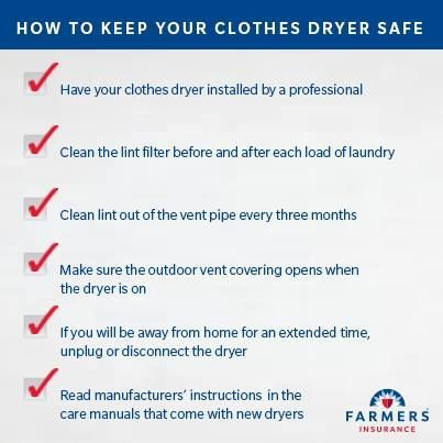 Top 9 Tips To Prevent Clothes Dryer Fires!
